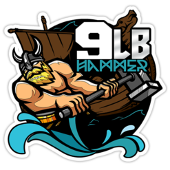 9 pound hammer sticker