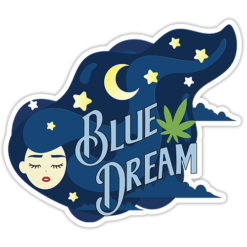 Blue Dream Sticker