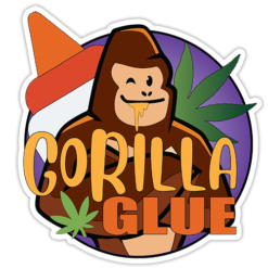 Gorilla Glue Sticker