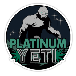 Platinum Yeti Sticker