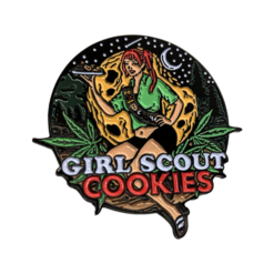 Girl Scout Cookies Strain Pin